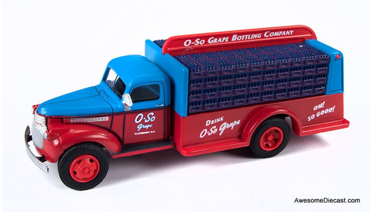 CMW 1:87 1946 Chevrolet Bottle Truck: O-so Grape