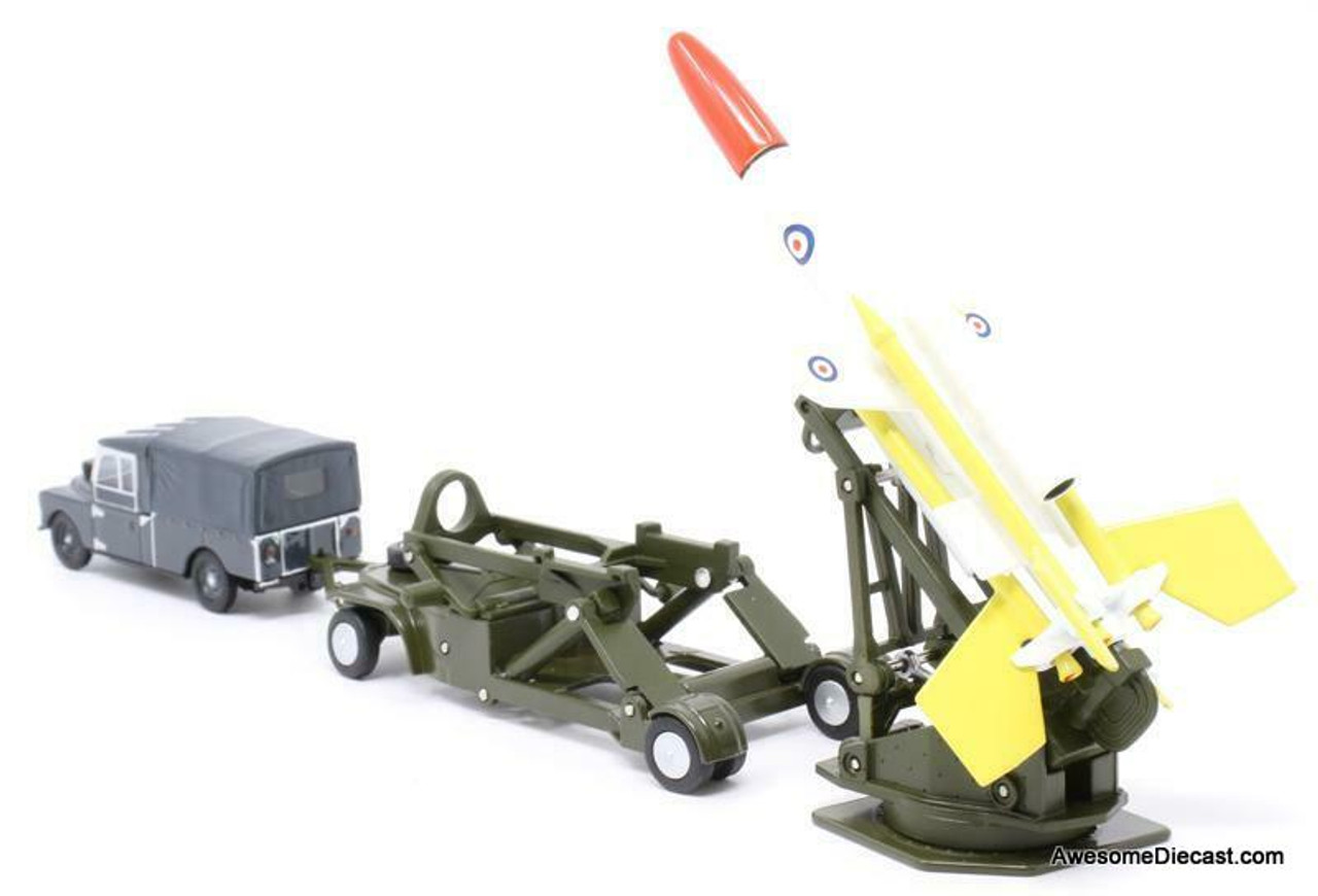 Oxford 1:76 Bloodhound Missile Set: Royal Air Force