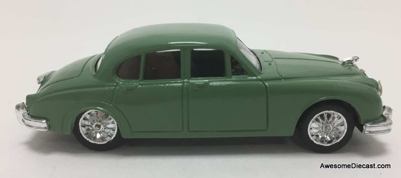 Corgi 1:43 Jaguar MK2 Sedan, Light Green