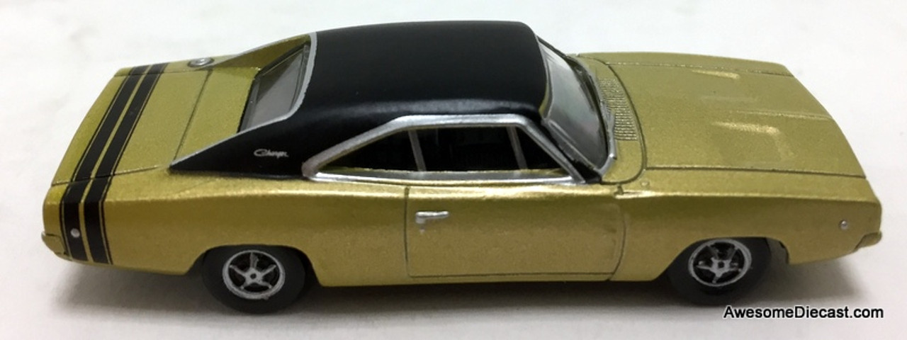 Oxford 1:87 1968 Dodge Charger, Metallic Gold
