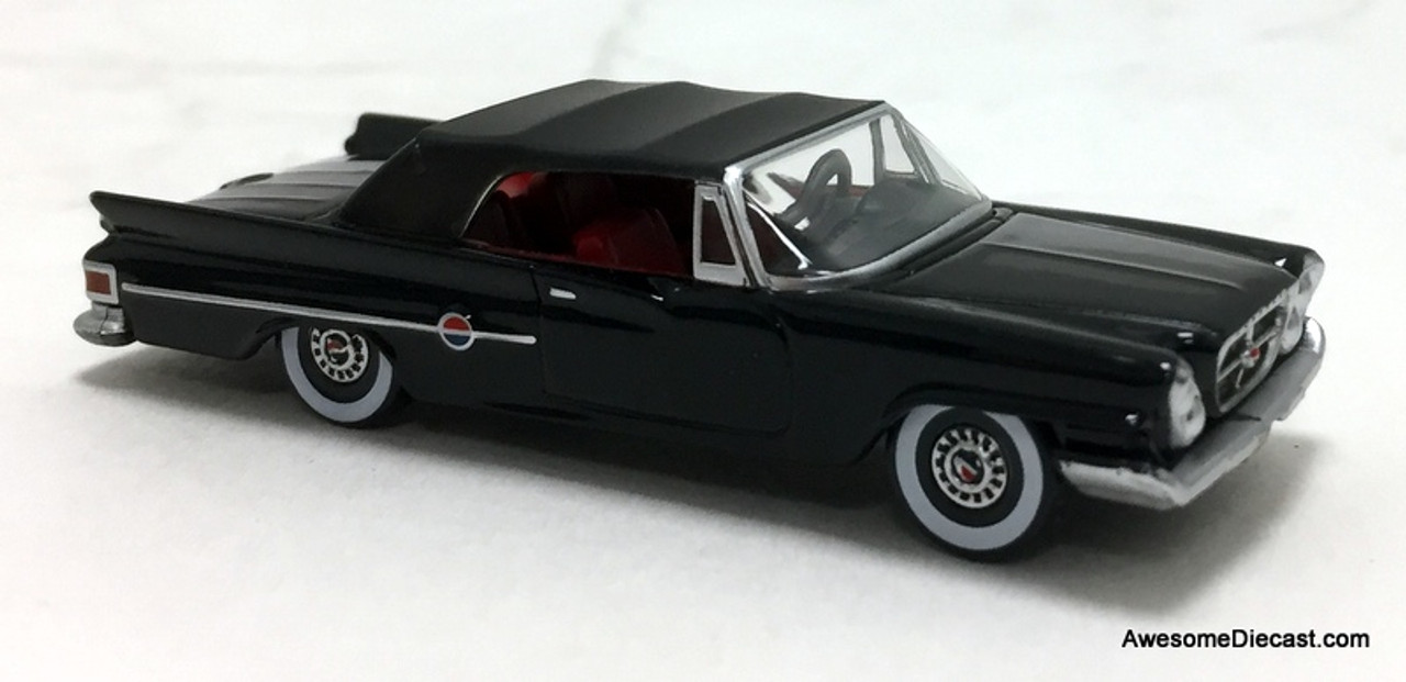 Oxford 1:87 Chrysler 300 Convertible, Black