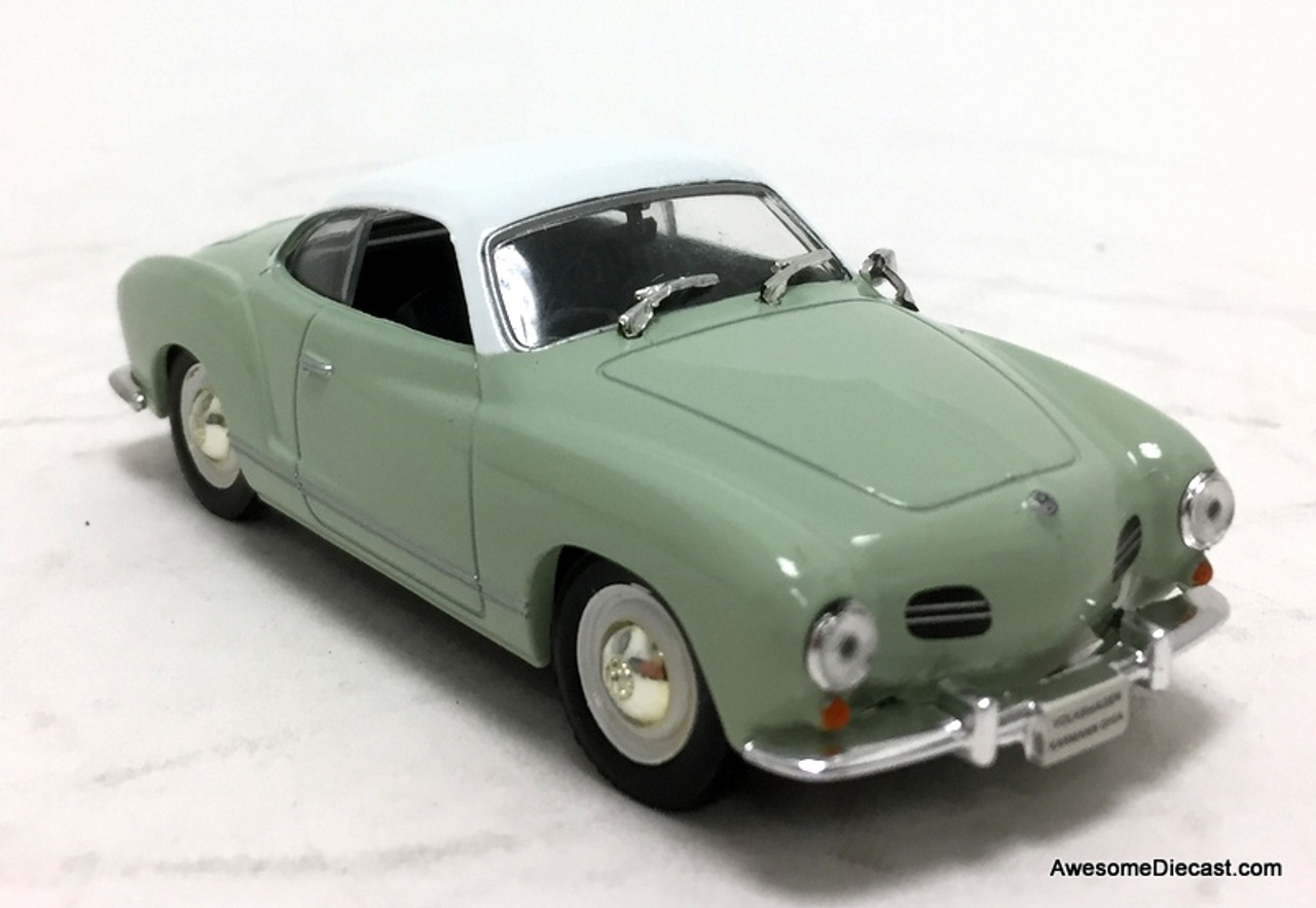 1//43 IXO Volkswagen Karmann Ghia 1959 Die Cast Car Model Rare Collection