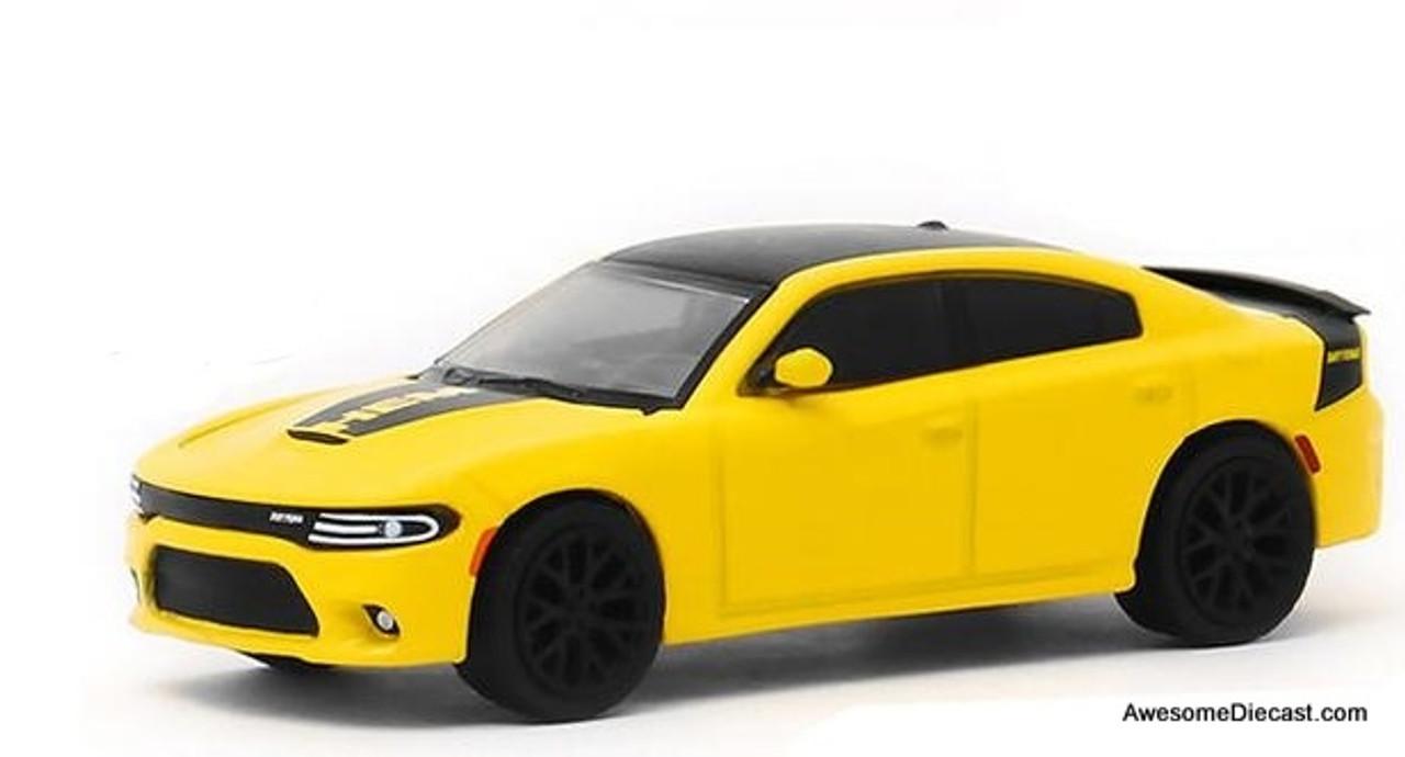 Greenlight 1 64 2017 Dodge Charger Daytona Hemi Yellow Pennzoil