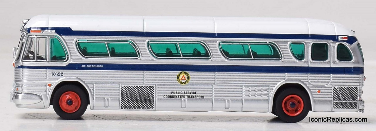 "Iconic Replicas 1:87 GM PD4104 Coach: Public Transport  ""Boardwalk Express"""