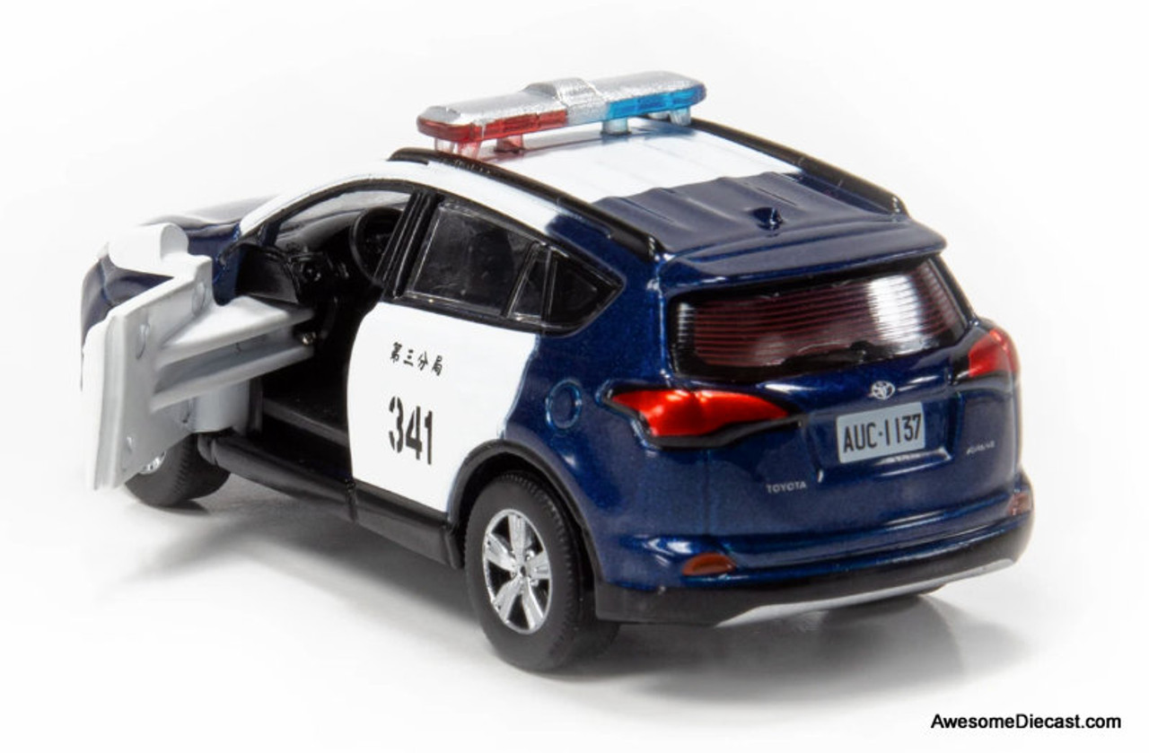 TINY Toyota Rav4 Taxi Taiwan Member Exclusive Scale 1//64 Diecast Car in stock