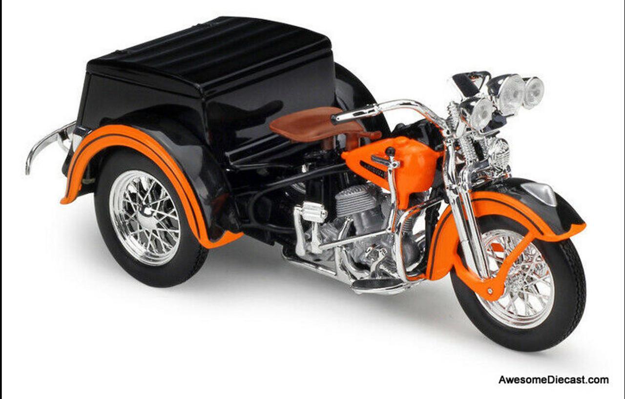 Maisto 1:18 1947 Harley Davidson Servi-Car