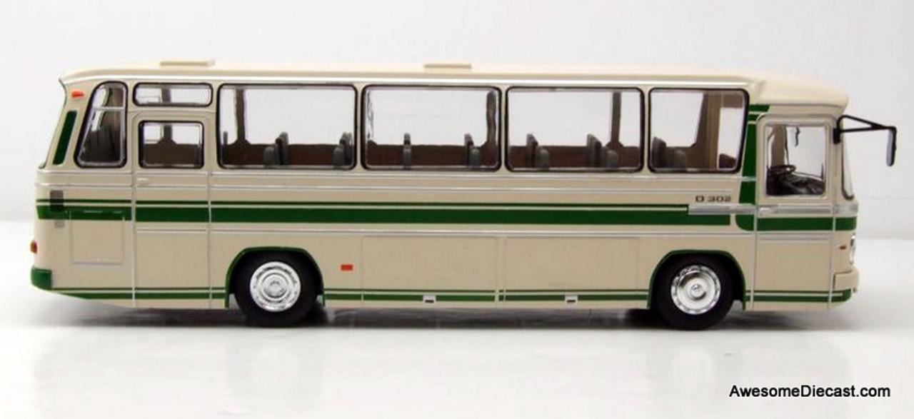beige//grün 1972  1:43 IXO   *NEW* Mercedes O 302-10R