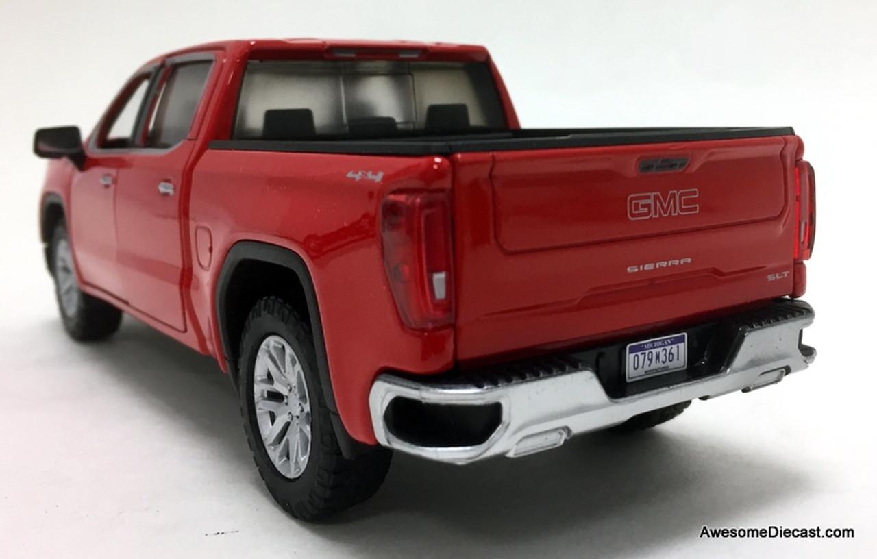 bluemetallic GMC Sierra 1500 Denali CrewCab MotorMax 1:27 2019