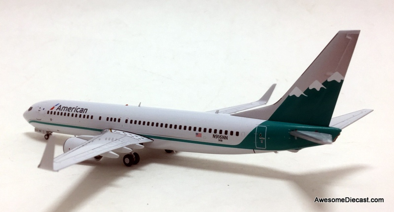 "Gemini Jets American /""Reno Air/"" Boeing B737-800W  1//200"