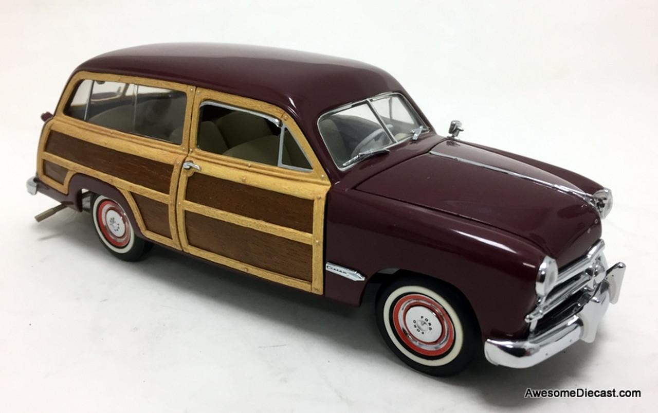 Franklin Mint 1 24 1949 Ford Woody Wagon Burgandy