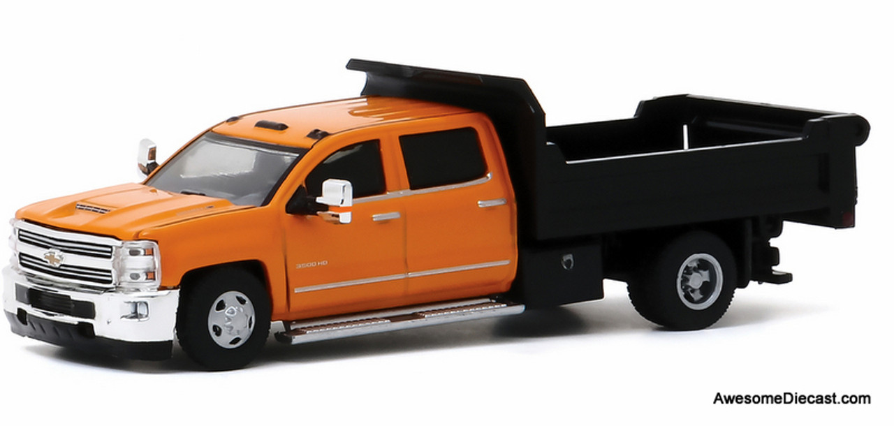 Greenlight 1 64 2017 Chevrolet Silverado 3500hd Dump Truck
