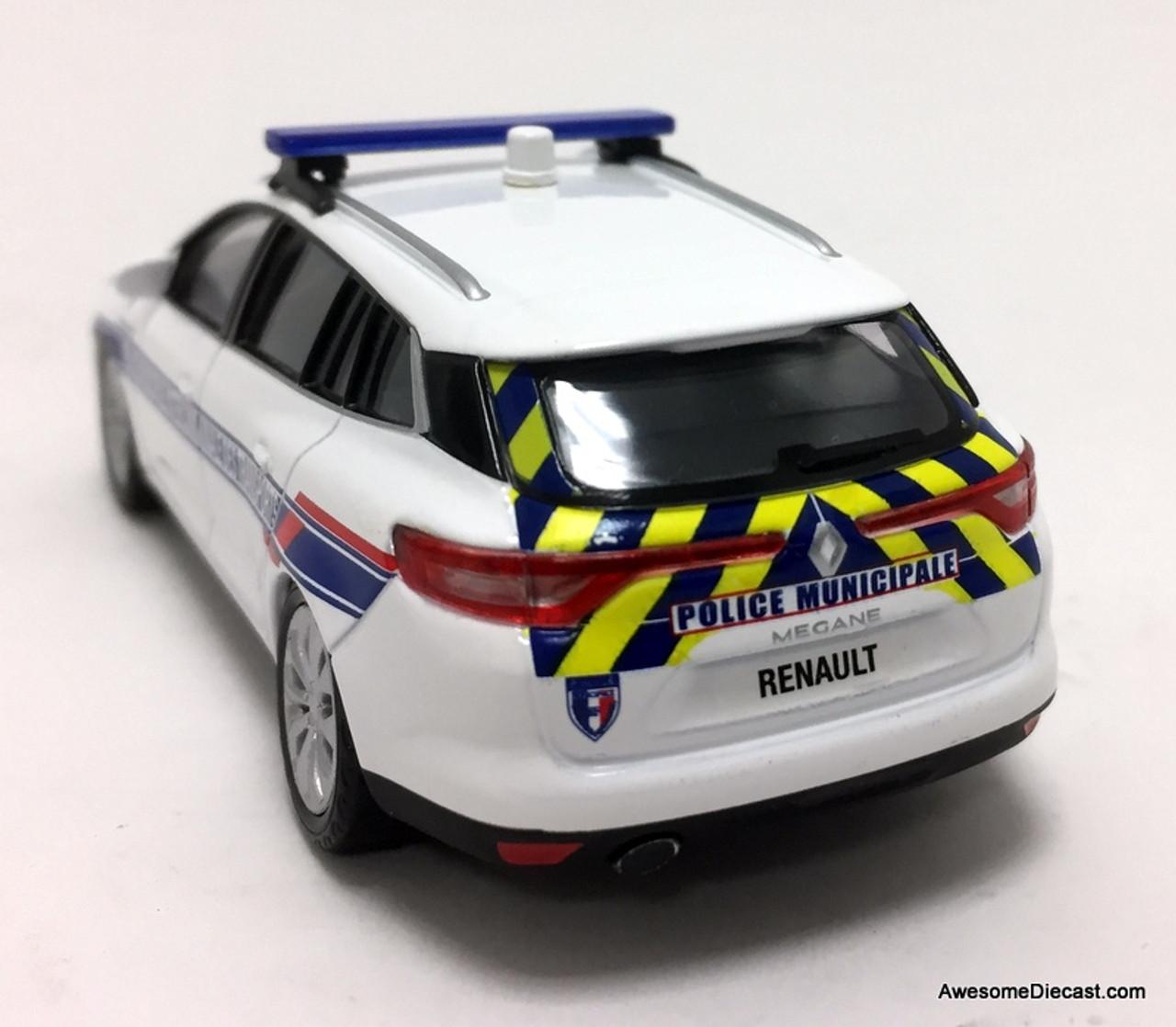 Renault Megane Peugeot 207 Französischer Feuerwehrmann 1:43 DIECAST AUTO CAR