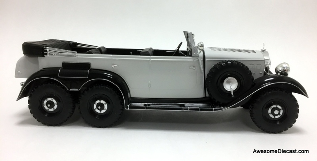 MCG 1:18 1938 Mercedes Benz G4 (W31), Black/Gray