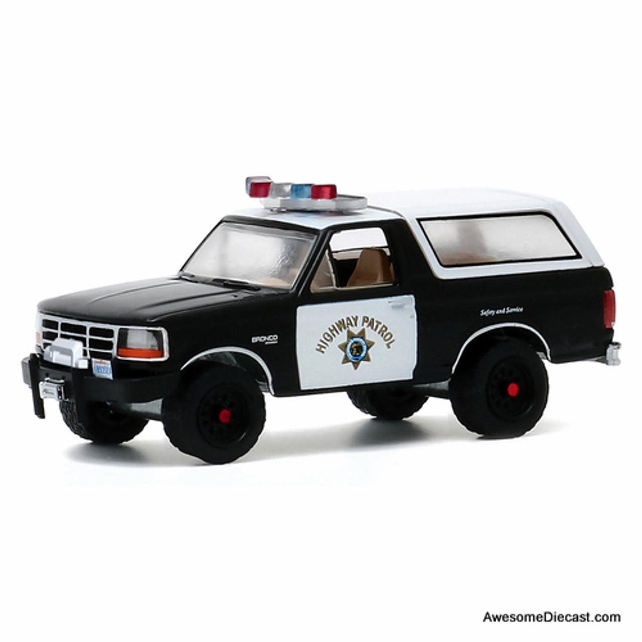 Greenlight 1 64 1993 Ford Bronco California Highway Patrol