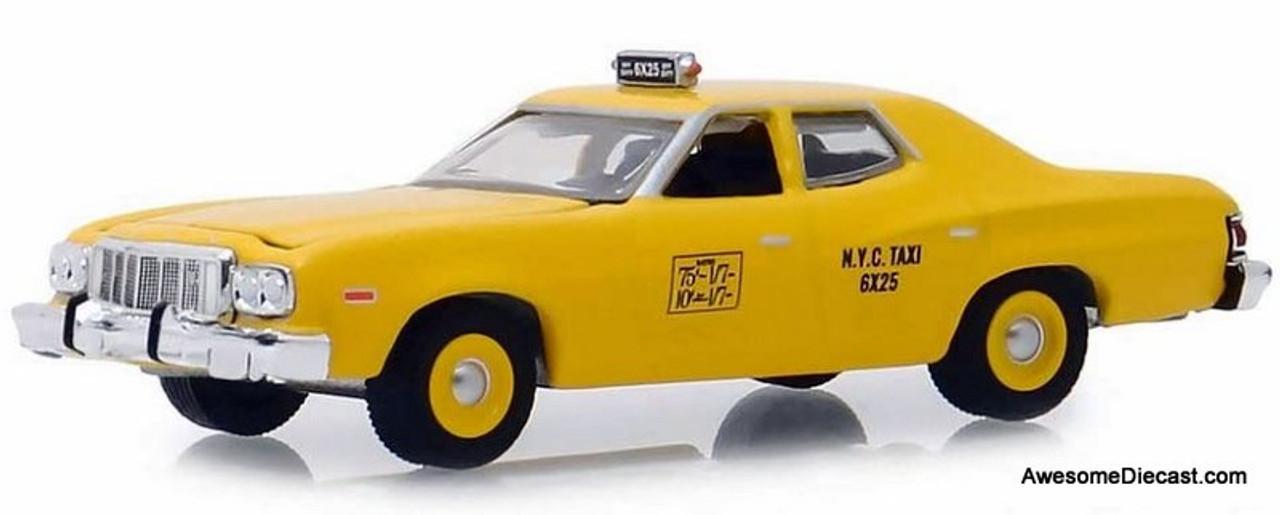 Greenlight 1:64 1975 Ford Torino: New York Taxi
