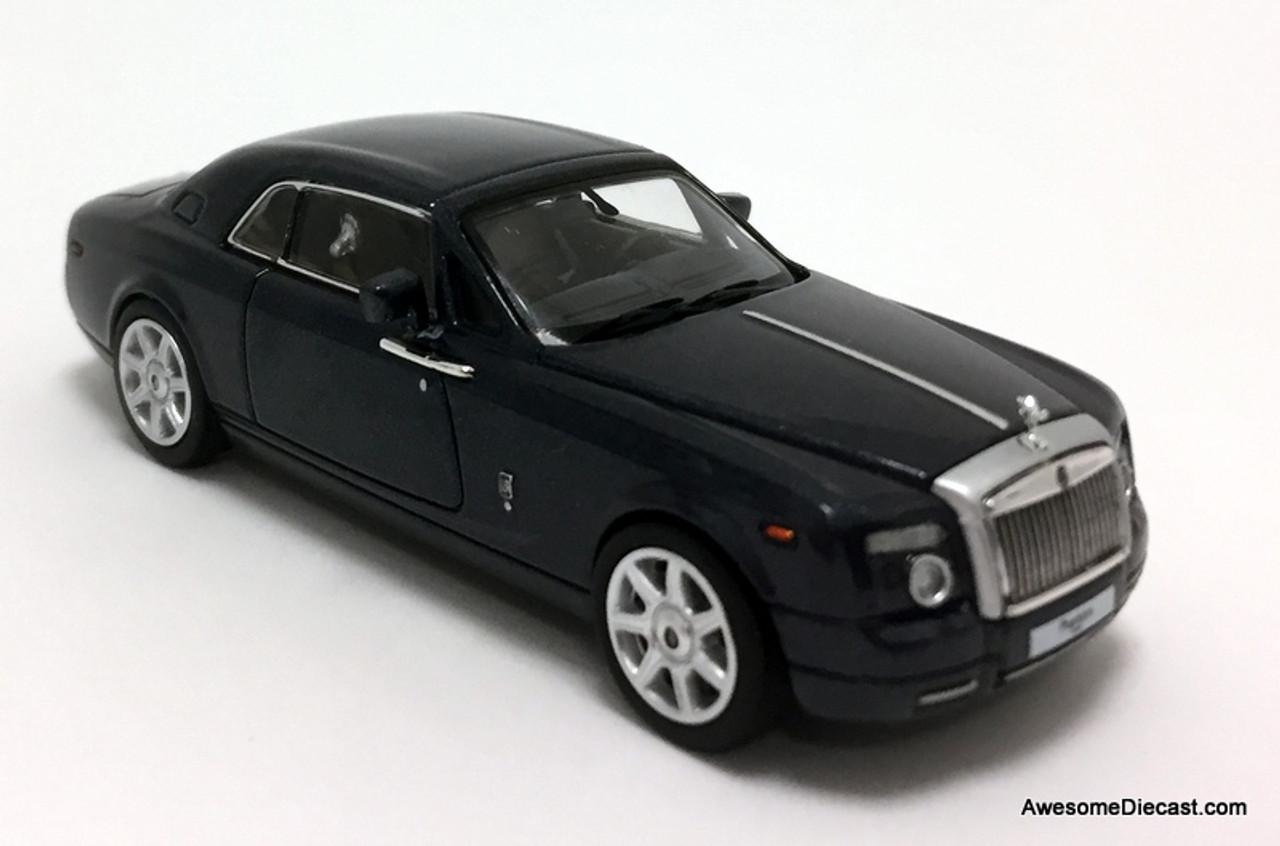 Time Collectibles 1 64 Rolls Royce Phantom Coupe Metallic Blue