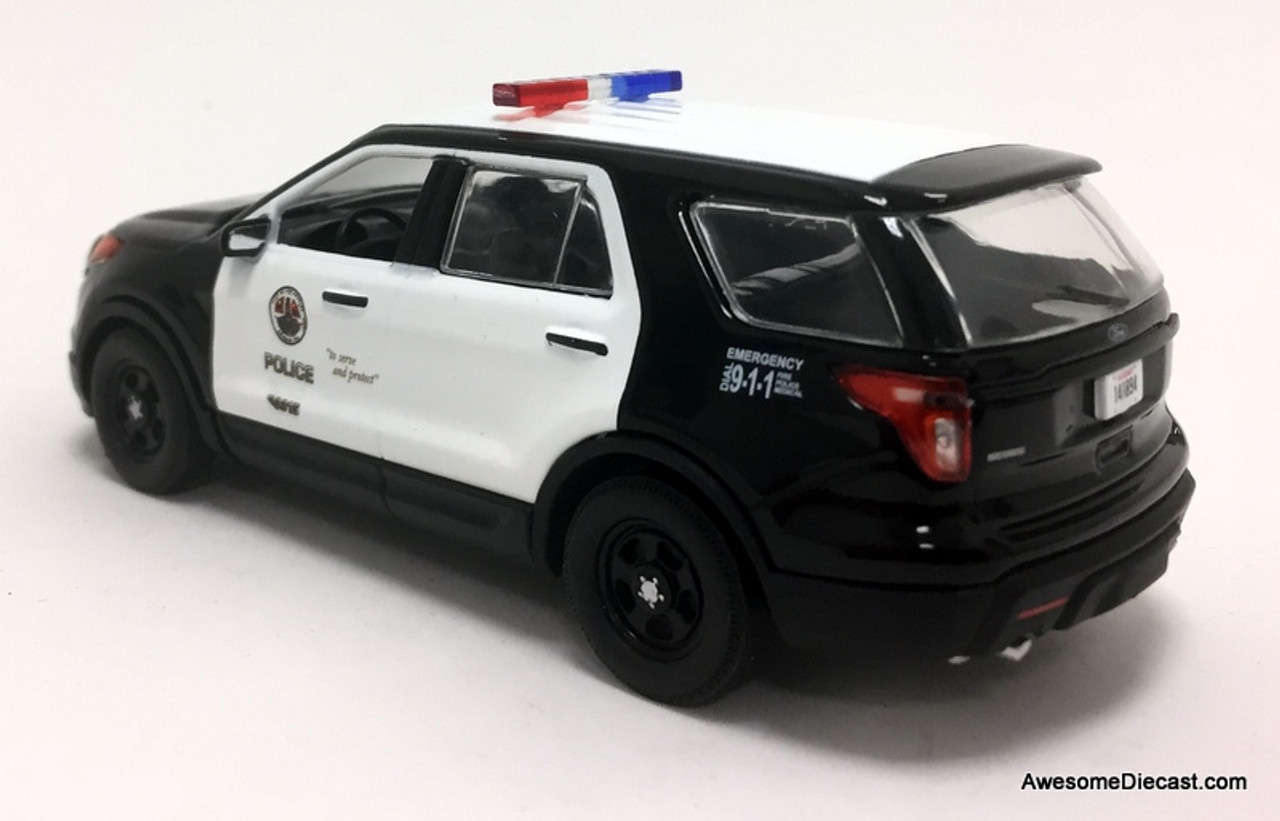 Greenlight 1:43 2013 Ford Police Interceptor Utility: LAPD - Los Angeles