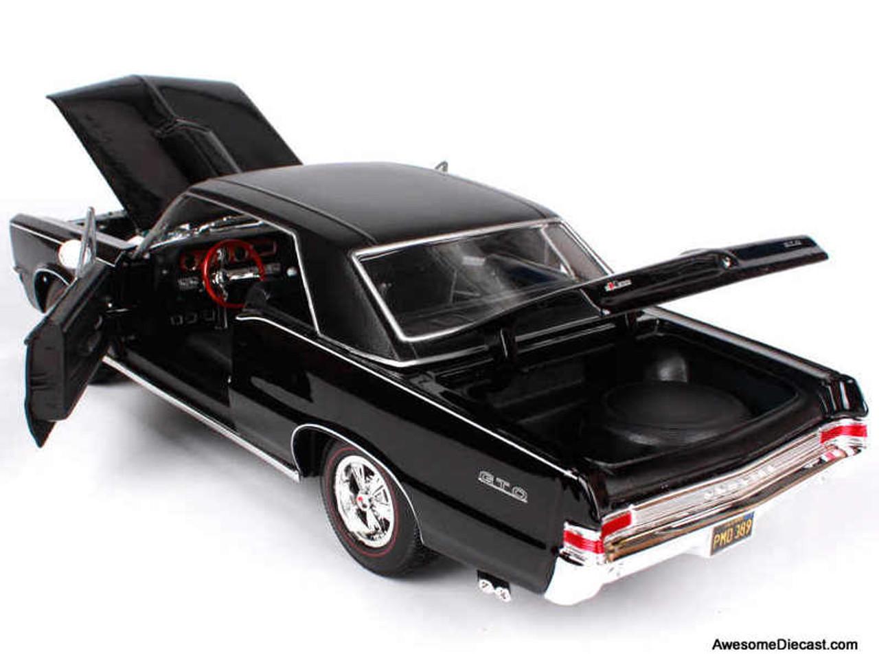 Maisto 1:18 1965 Pontiac GTO, Black
