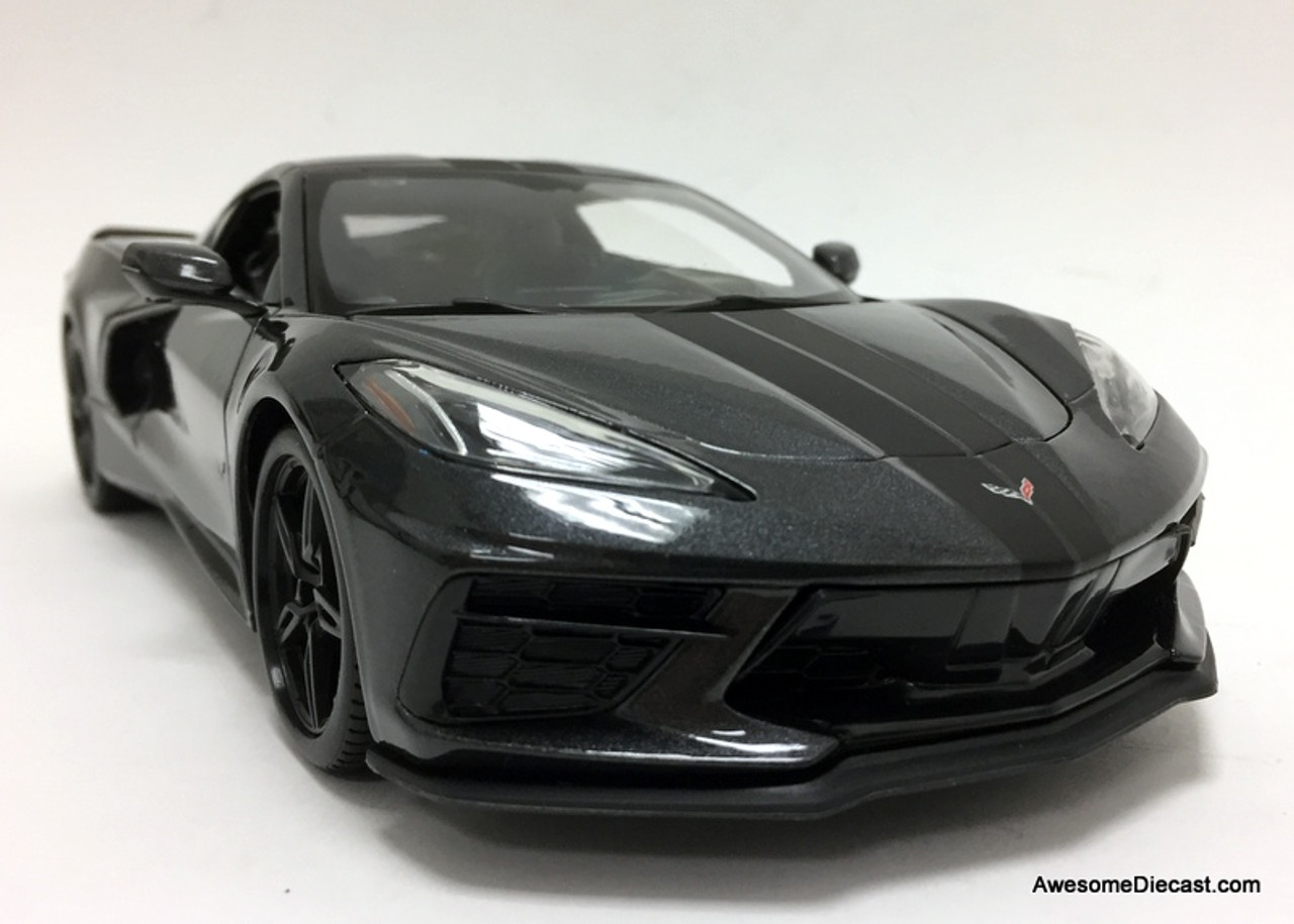 Maisto 1:18 2020 Chevrolet Corvette, Metallic Gray