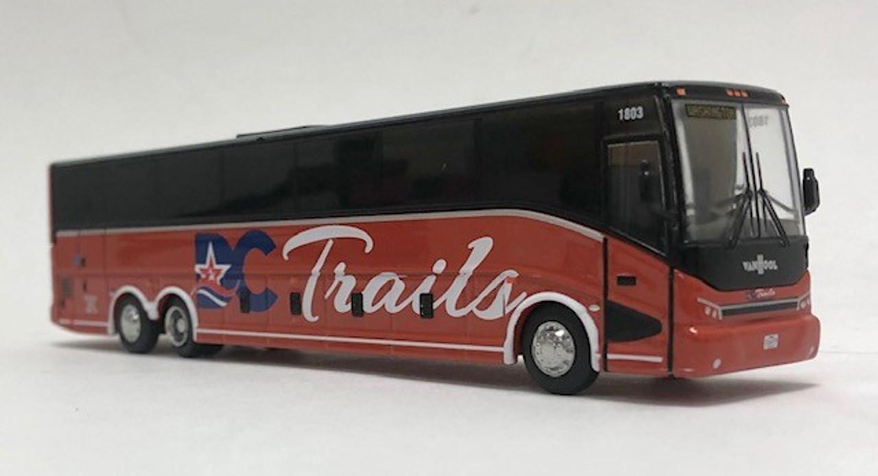 Iconic Replicas 1:87 2020 Van Hool CX-45 Coach: DC Trails