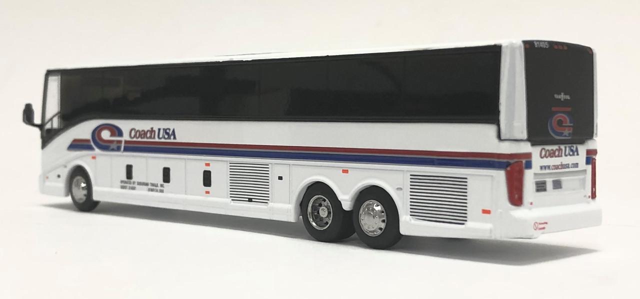Iconic Replicas 1:87 2020 Van Hool CX-45 Coach: CoachUSA