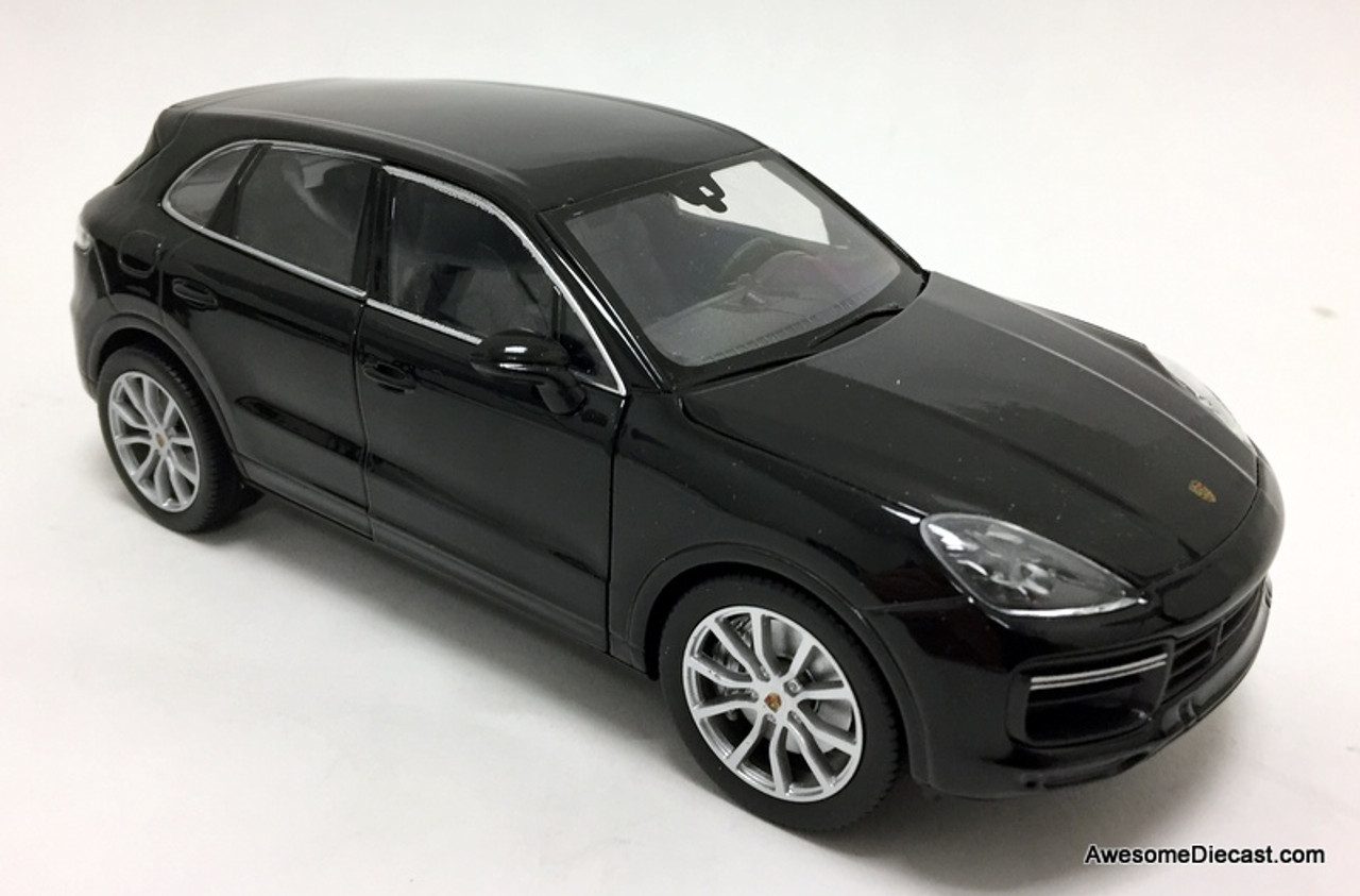 Welly 1 24 2019 Porsche Cayenne Turbo Coupe Black