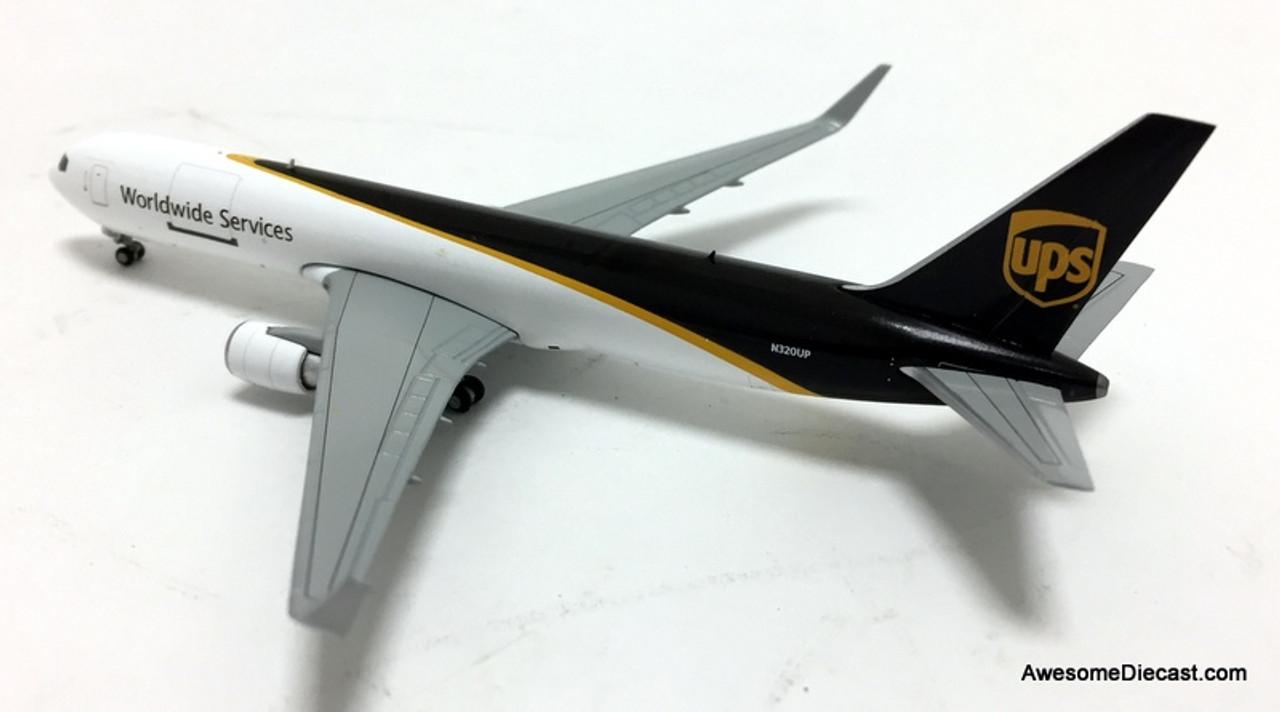 Gemini Jets 1:400 Boeing 767-300F: New UPS Livery