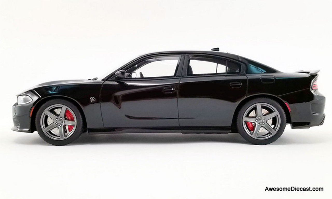 GT Spirit 1:18 2019 Dodge Charger SRT Hellcat, Pitch Black