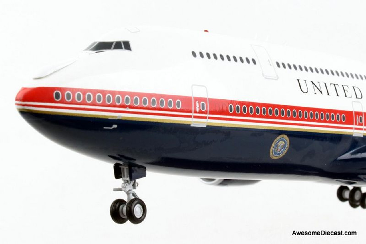 Gemini 200 1:200 Boeing 747-8: Air Force One - New Livery
