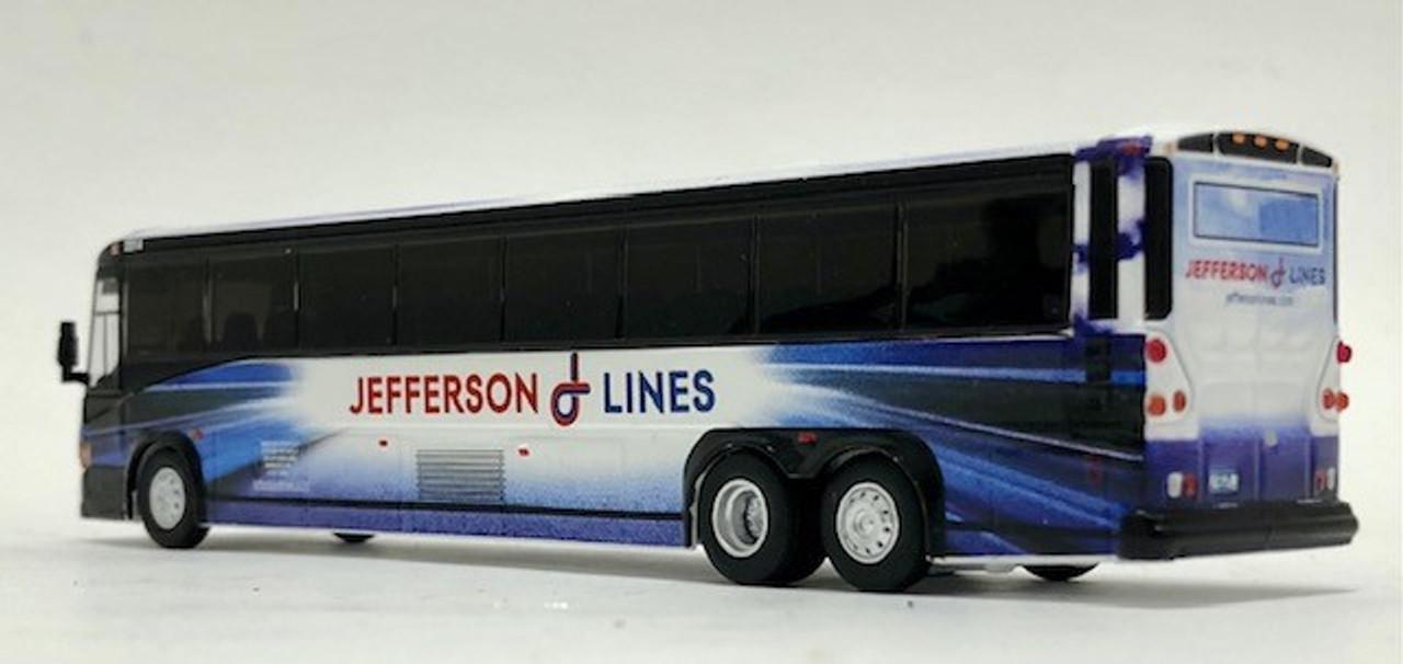 Iconic Replicas 1:87 MCI D4505 Coach: Jefferson Lines - Destination: Minneapolis