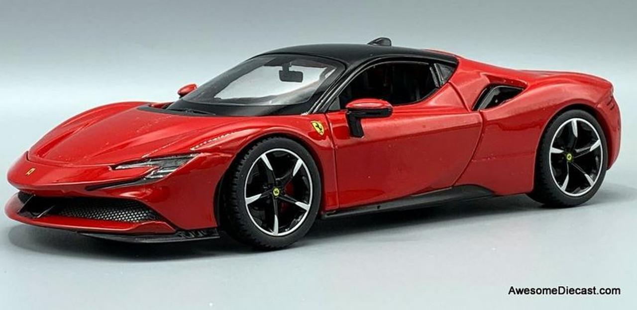 Burago 1 24 2020 Ferrari Sf90 Stradale Red