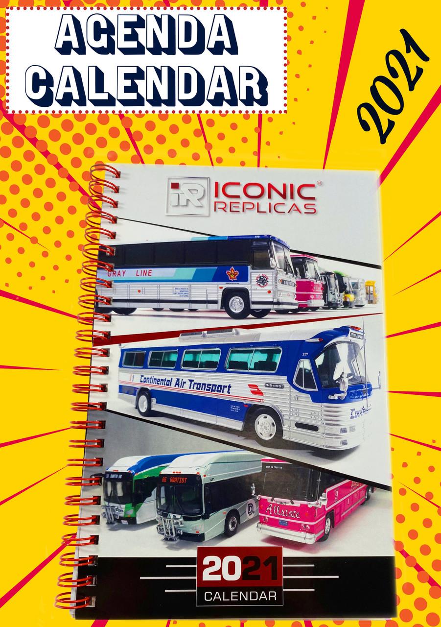 Iconic Replicas 2021 Agenda / Calendar - Limited Edition