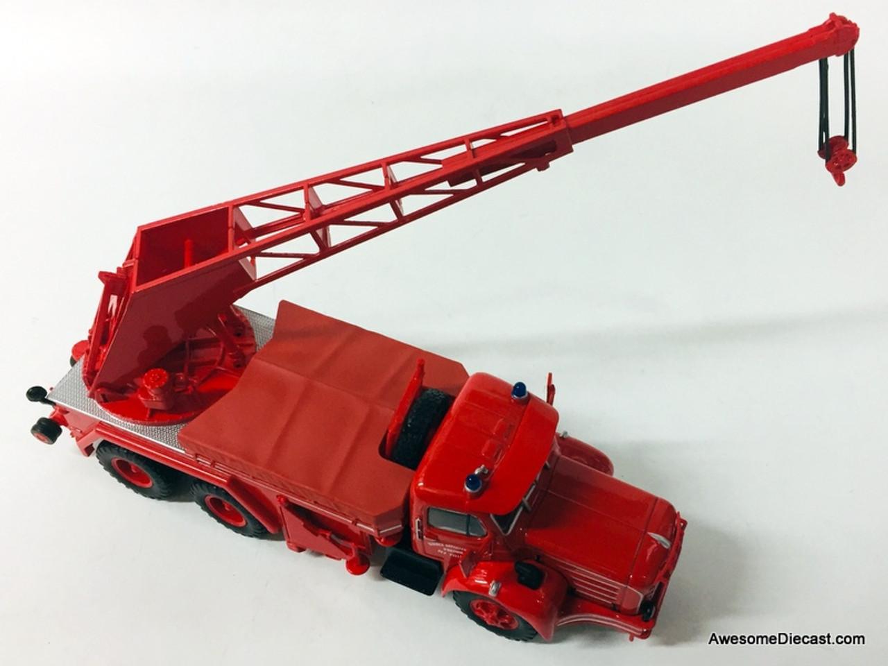 Hachette 1:43 Berliet TBO Camion Fire Truck: Yvelines Fire Department, France