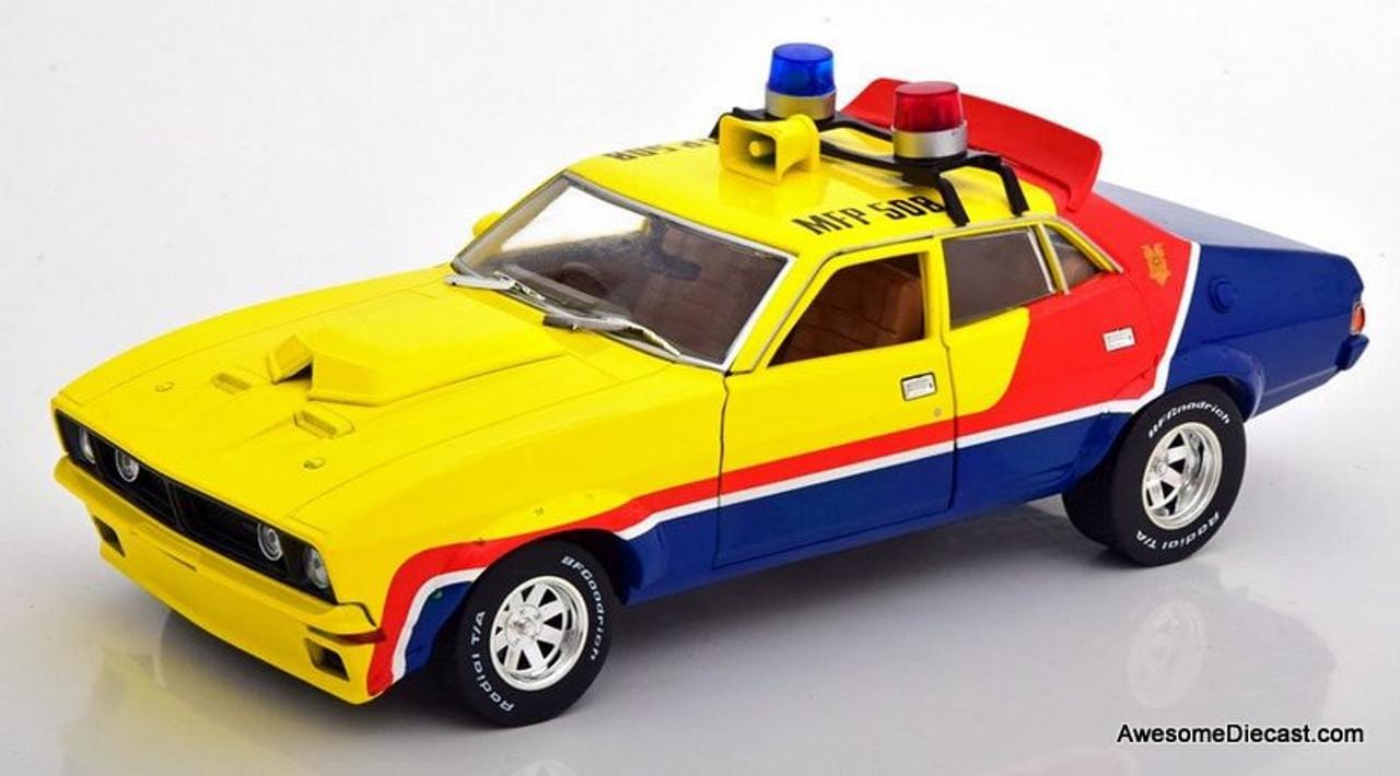 Greenlight 1:18 1974 Ford Falcon XB V8 Interceptor: Mad Max The Movie