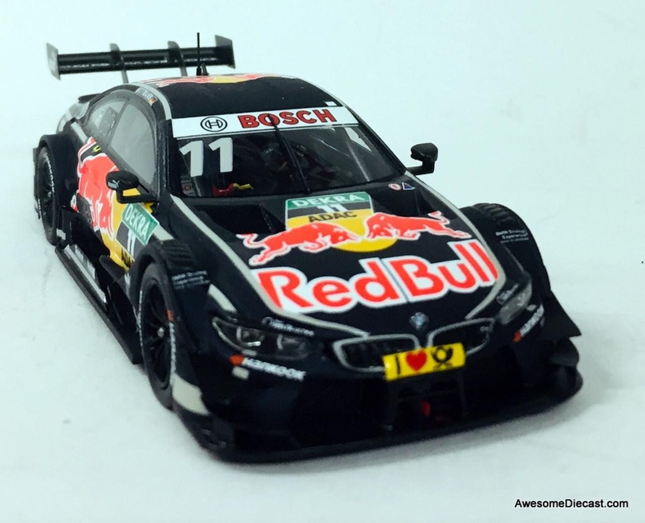 Only One!! Spark 1:43 2017 BMW M4 Team RMG Red Bull: Hockenheim 2017, Germany