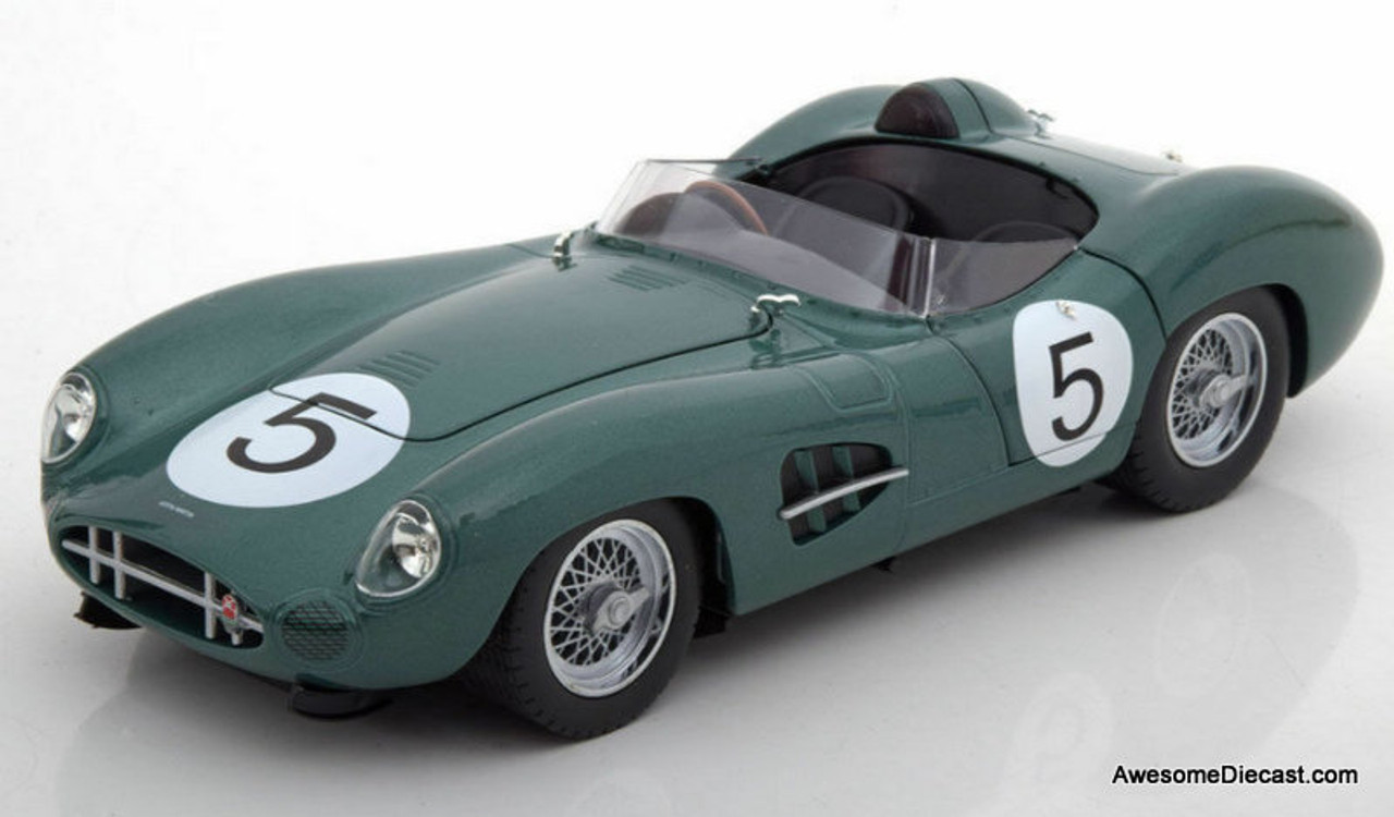 Shelby Collectibles 1:18 Aston Martin DBR1, Metallic Green