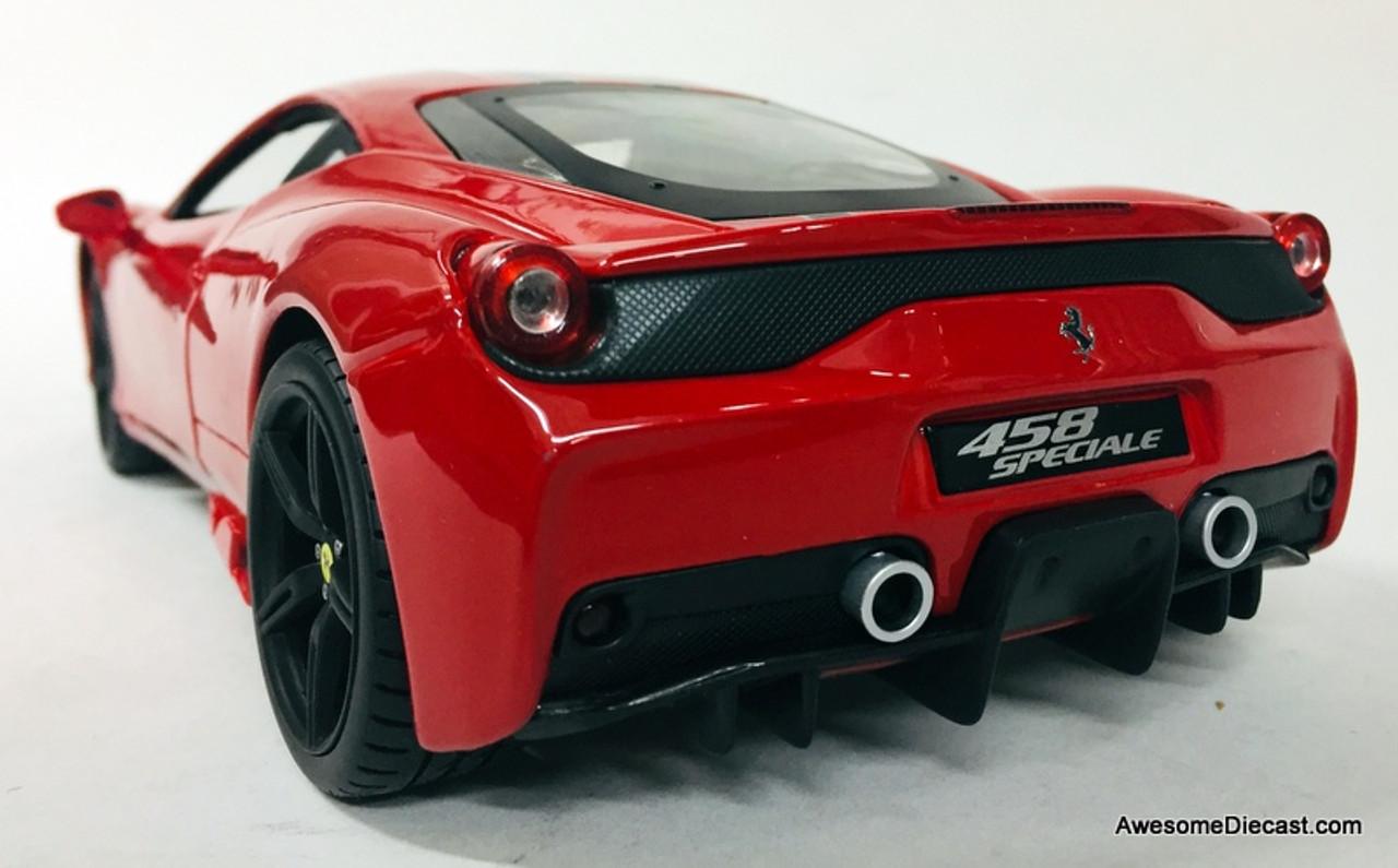 Burago Signature Series 1:18 2014 Ferrari 458 Speciale