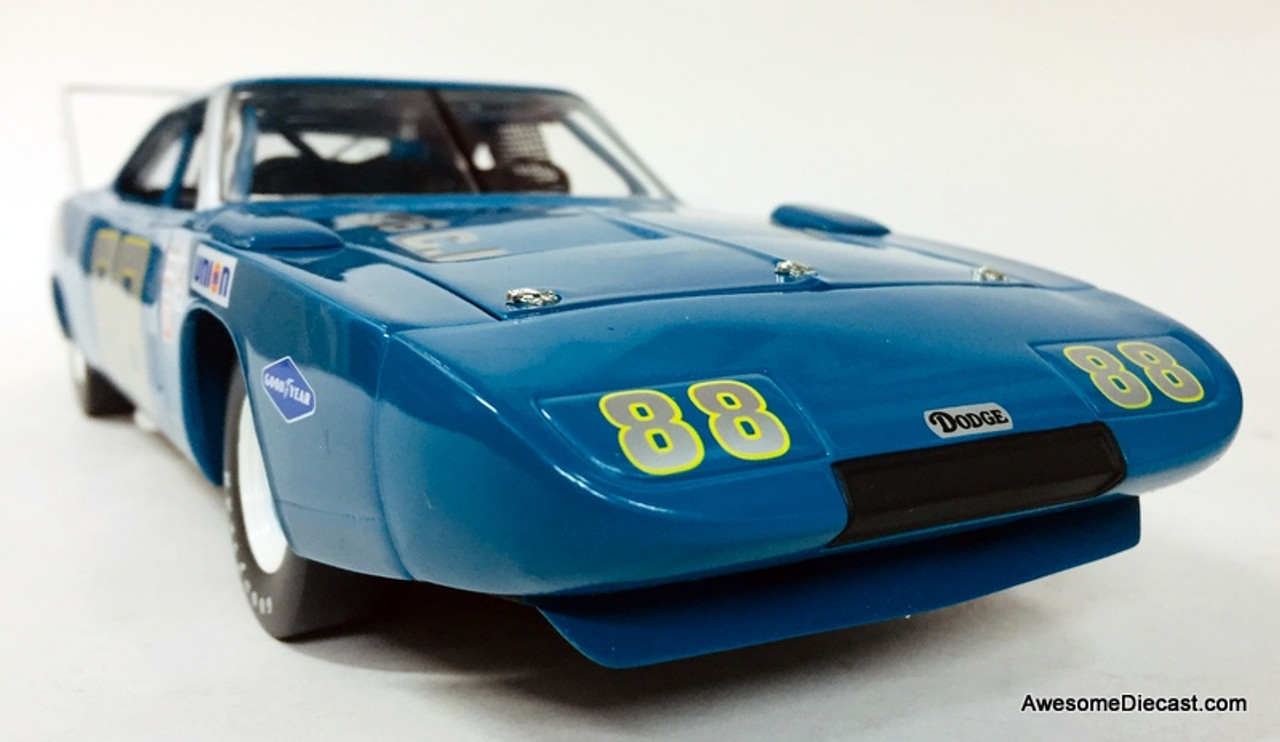 RC2 Models 1:18 1969 Dodge Daytona World Record Setter  #88 Test Car: Winged Warrior