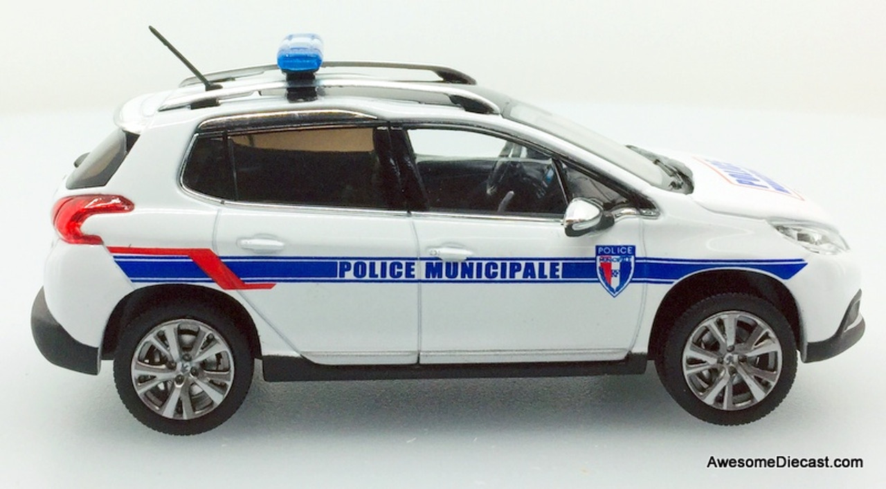 Norev 1:43 2013 Peugeot 2008: French Municipal Police Department