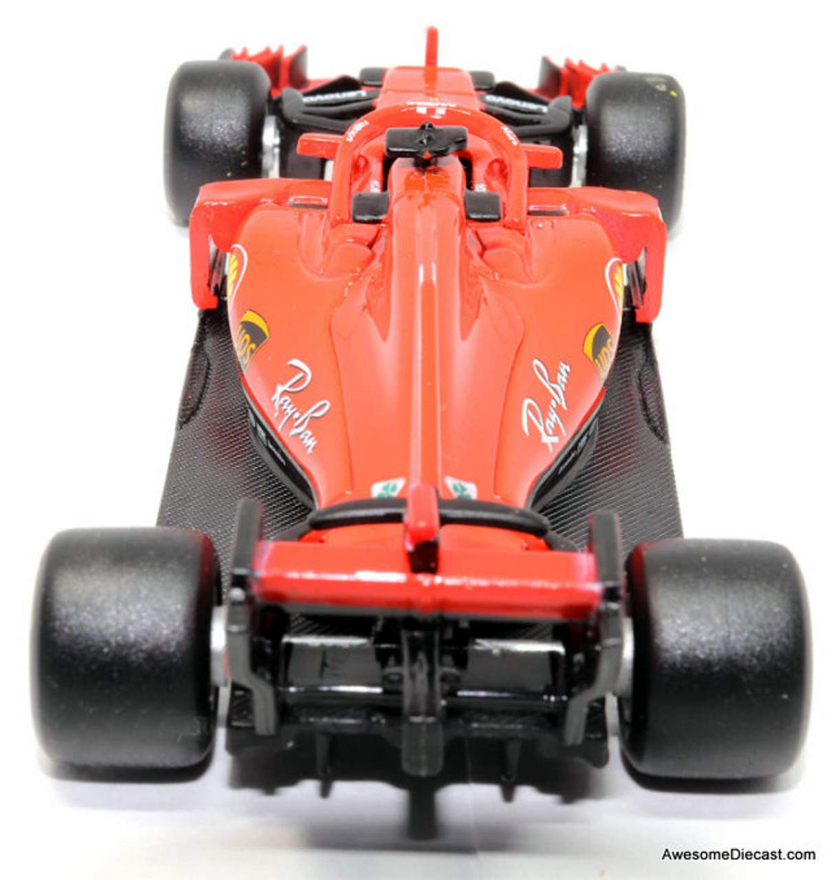 Burago 1:43 2018 Ferrari SF71H Formula 1 Race Car #5: Sebastian  Vettel