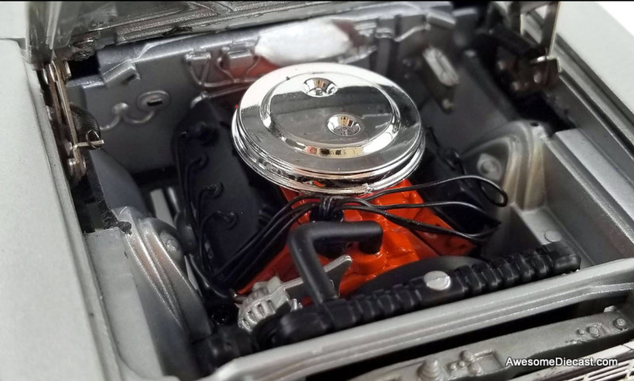 ACME 1:18 1967 Plymouth Belvedere Lightweight: Silver Bullet