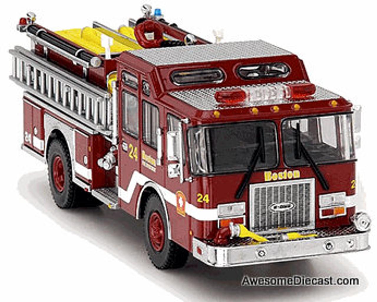 Code 3 1:64 E-One Cyclone II Pumper: Boston Fire Department