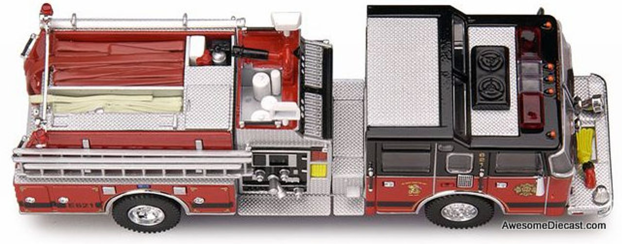 Code 3 1:64 Pierce Dash TM Pumper 621: Princeton, New Jersey Fire Department