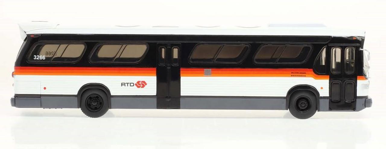 Iconic Replicas 1:43 GM TDH5303 Transit Bus: RTD Los Angeles