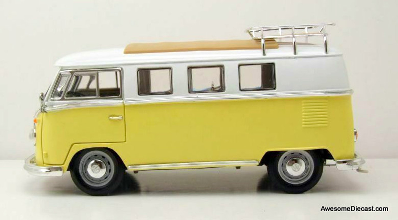 Road Signature 1:18 1962 Volkswagen Microbus, Yellow