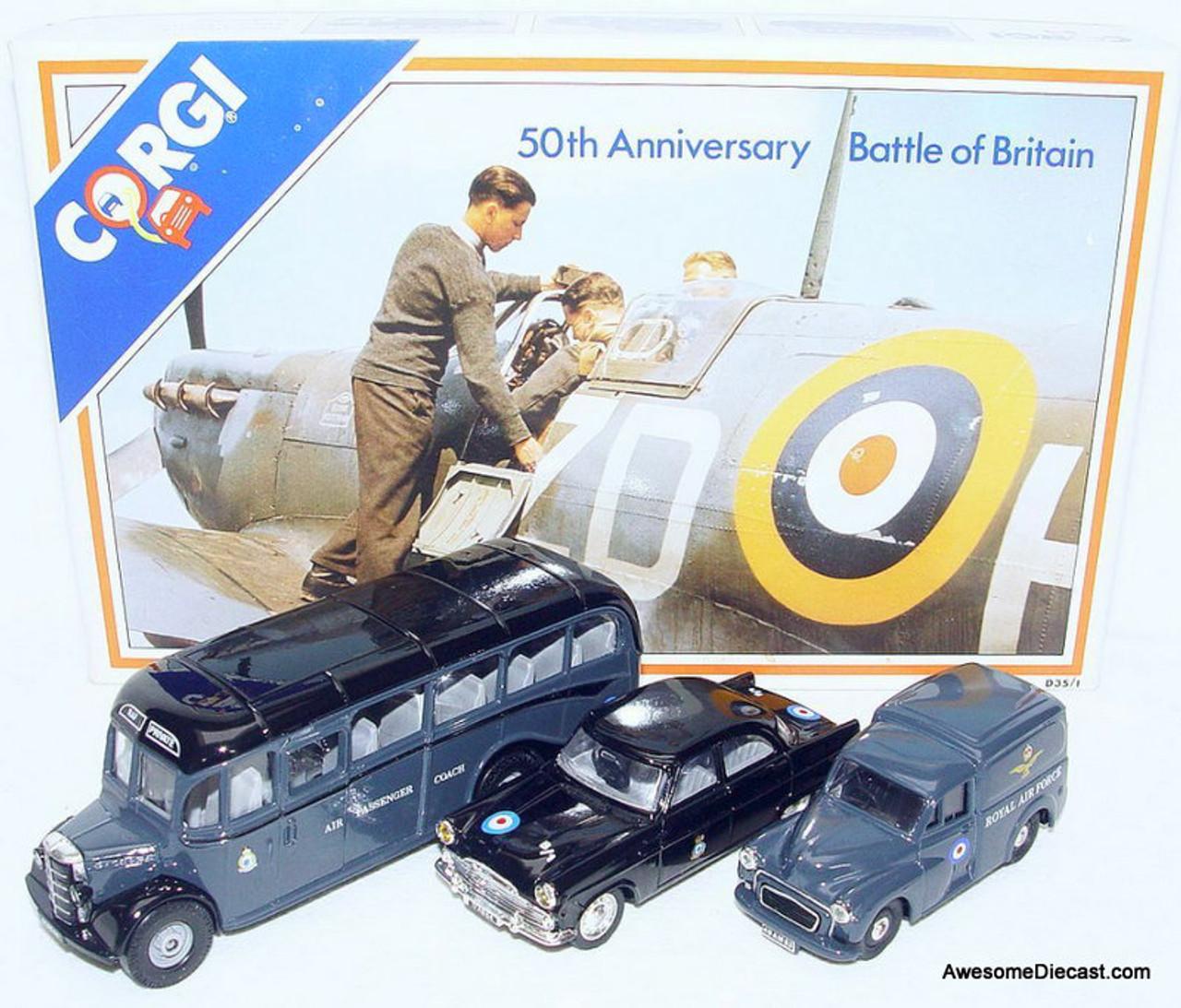 Corgi 50th Anniversary Battle Of Britain Set