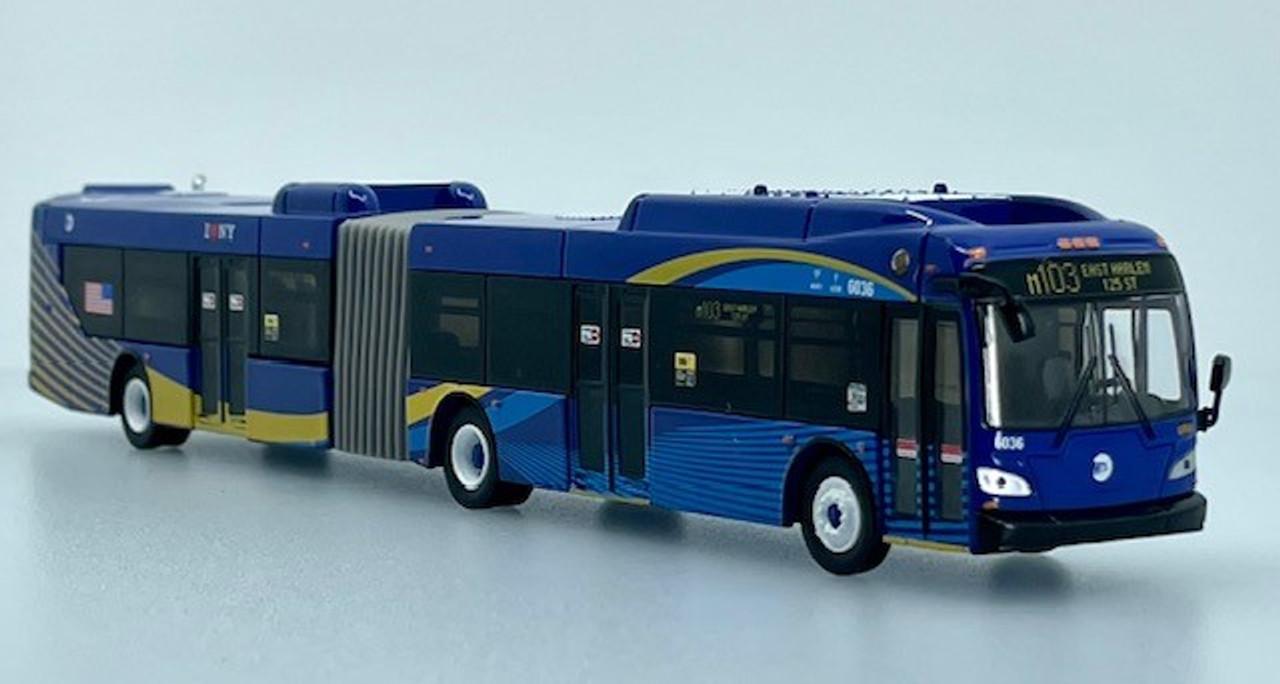 Iconic Replicas 1:87 NFI Xcelsior XD60 Transit Bus: MTA New York City
