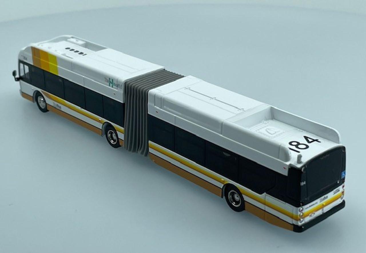 "Iconic Replicas 1:87 NFI Xcelsior XDE60 Transit Bus: Honolulu ""THE BUS"""