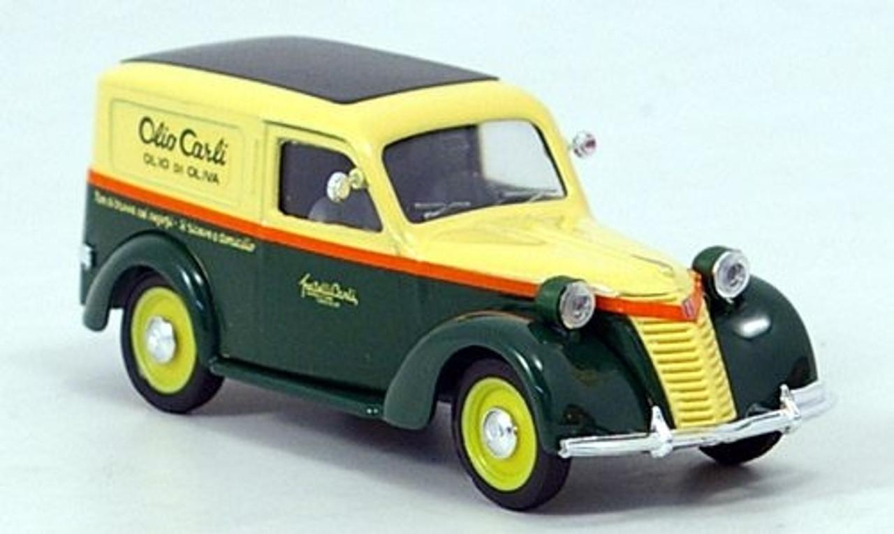 Brumm 1:43 1946 Fiat 1100E Furgone Olio Carli (Imperia Oneglia)