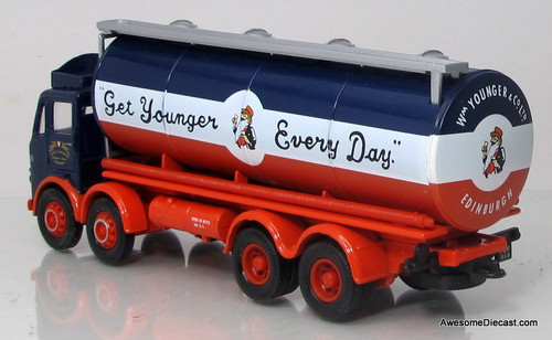 Corgi 1:50  Leyland 4x8 Octopus Tanker: Younger & Co. Ltd.